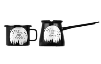 follow your dreams mug and pot